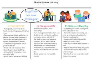 Tips DIstance Learning