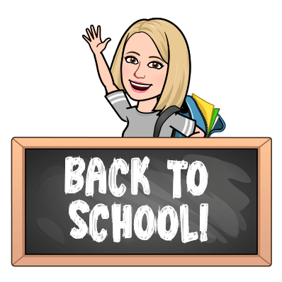 Back To School Bitmoji