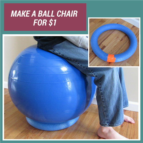Alternative Ball Chair